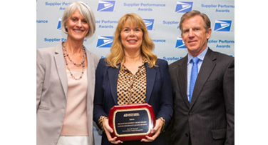 Eaton recognized by the U.S. Postal Service for its commitment to supplier diversity