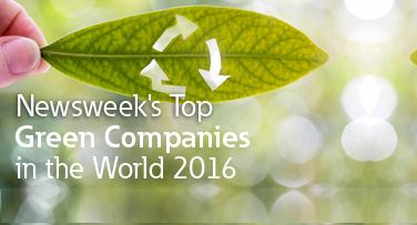 Eaton ranked among the world's largest companies on corporate sustainability and environmental impact